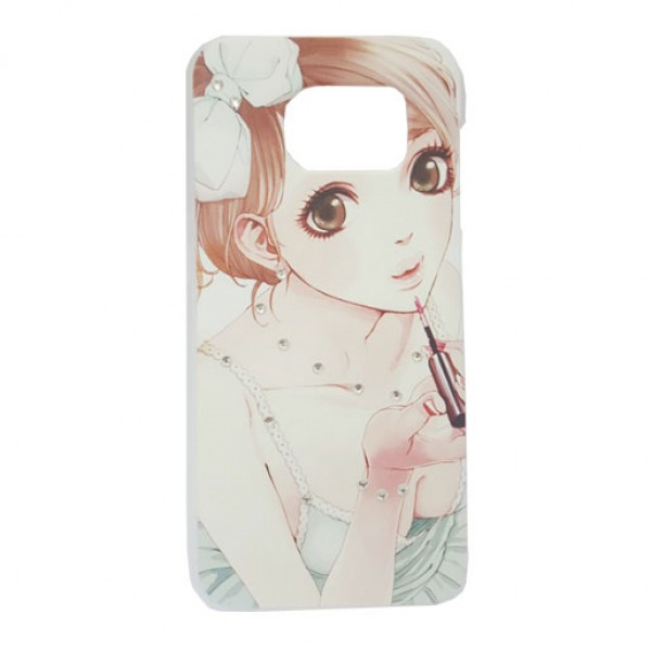 Girl Art Clear Design Back Cover Case For Samsung Galaxy S7