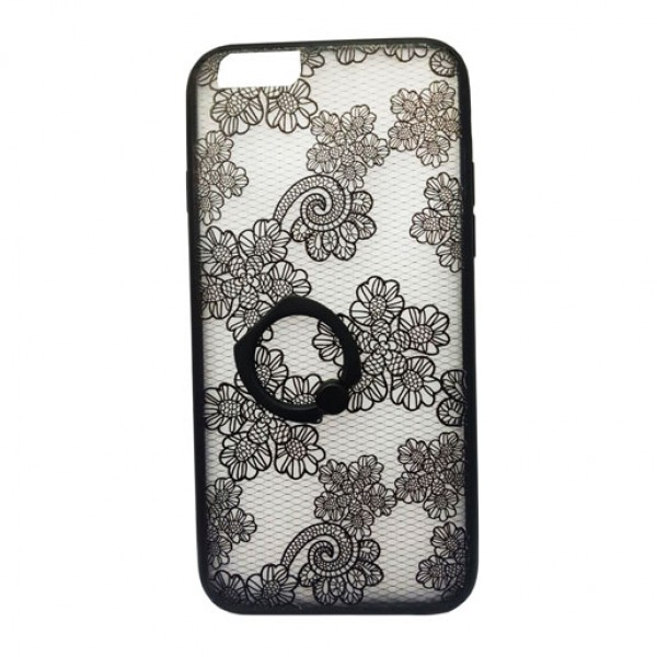 New Lace Flower Metal Mobile Phone Cases for iPhone 6 6S Plus