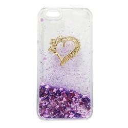 Dynamic Liquid Glitter Quicksand Purple Case iPhone 6
