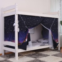 Privacy Bed Cover Easy Foldable Privacy Bed Tent Curtains - One Piece
