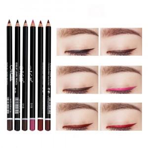 6 Color Waterproof Non-Smudge Eyeliner - Multi Color