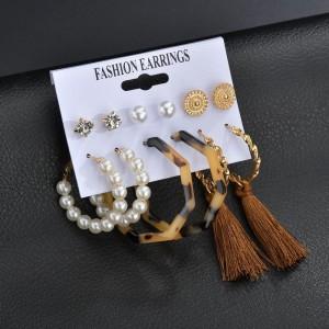 Tassel Spherical Elegant Ear Jewellery Set