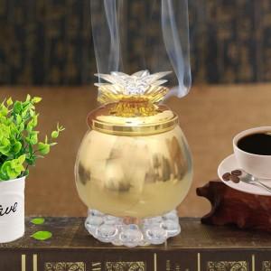 Classic Perfect Incense Oud Burner - Golden