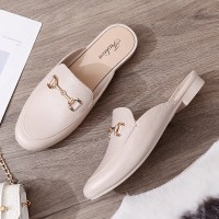 Slip Over Plain Casual Wear Flat Shoes - Pink
