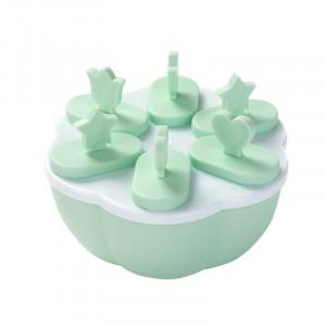 Round Shaped Homemade Ice Cream Mold - Green