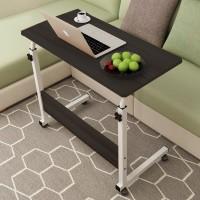 Easy Moving Extendable Modern Smart Laptop Table - Black