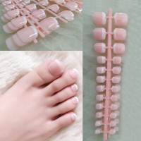 Self Adhesive Shiny Women Fashion Fake Nails - Shade II
