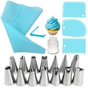 20 Pieces Bakeware Cake Decoration Tools Set - Multi color