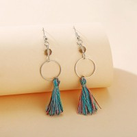 Tassel Silver Plated Bohemian Women Fashion Earrings