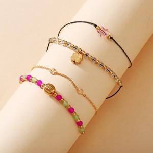Beads Decorative Multi Layered Women Fashion Bracelets