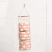 Pocket Easy Wall Hook Storage Hanger - Pink
