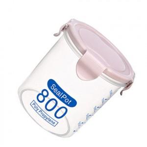 800 Grams Anti Leakage High Quality Seal Packed Storage Pot - Pink