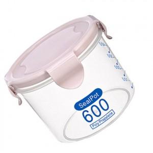 600 Grams Anti Leakage High Quality Seal Packed Storage Pot - Pink