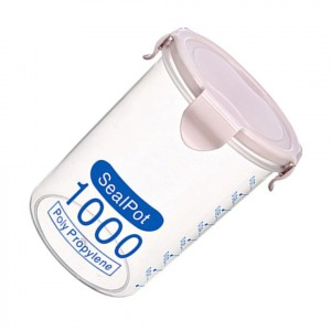 700ml Anti Leakage High Quality Seal Packed Storage Pot - Pink