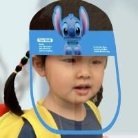 Cartoon Prints Anti Splash Germ Resistant Kids Face Shield