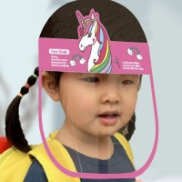 Unicorn Prints Anti Splash Germ Resistant Kids Face Shield