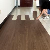 Wooden Textured Fancy Interior Home Deocrative Floor Tiles - Brown