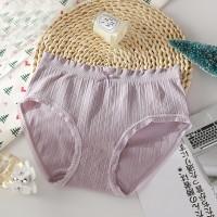 Elastic Laced Up Summer Wear Women Underwear - Purple