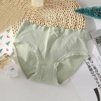 Elastic Laced Up Summer Wear Women Underwear - Green