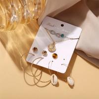 Sea Shells Multi Designs Women Fashion Jewellery Set