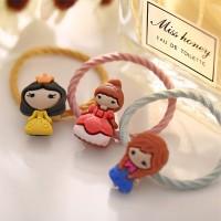 Cartoon Fashion Elastic Hair Band For Kids - Multi Color