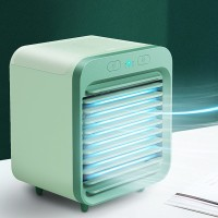 High Quality Rechargeable Mini Portable Cooler Fan - Green
