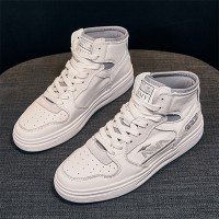 Trendy Toe Covered Thick Bottom Casual Wear Sneakers - Gray