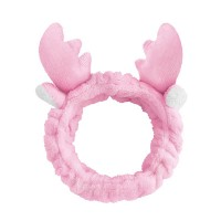 Trendy Animal Design Elastic Headband For Women - Pink