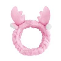 Trendy Animal Design Elastic Headband For Women - Pink