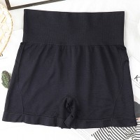 High Waist Slim Wear Stretchable Women Underwear - Black