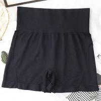 High Waist Slim Wear Stretchable Women Underwear - Black
