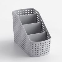 Multi Purpose Creative Four Column Storage Rack - Gray