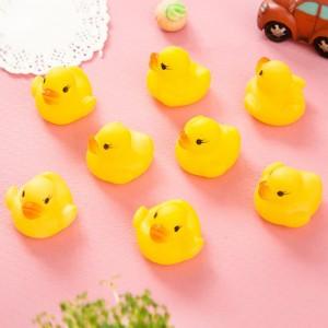 Cartoon Playable Kids High Quality Bath Tub Toys - Yellow
