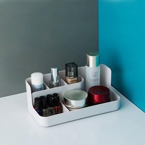 Creative Table Holder Cosmetics Fancy Rack - Gray