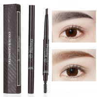 Water Resistant Eye Lashes Curler With Eye Brow Pen