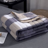 Stripes Printed Soft High Quality Comforter - Multicolor