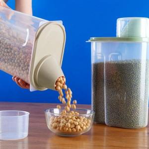 Air Tight High Quality Food Storage Box 2.5 Litre - Khaki