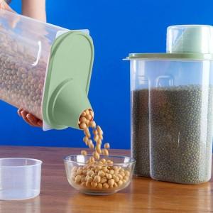 Air Tight High Quality Food Storage Box 2.5 Litre - Dark Green