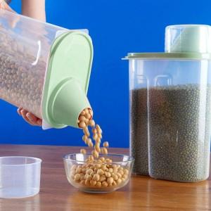 Air Tight High Quality Food Storage Box 2.5 Litre - Green