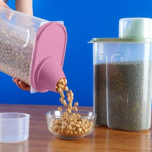 Air Tight High Quality Food Storage Box 2.5 Litre - Hot Pink