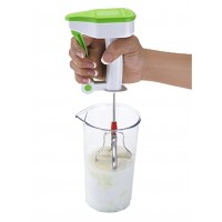 Easy Flow Non Electric Manual Hi Speed Hand Blender - Green