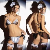 Lace Two Piece Women Sexy Wear Night Alone Lingerie Sets