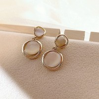 Girls High Sense Opal Earrings - Golden