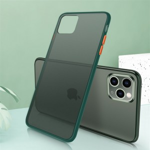 Ultra Thin TPU Translucent Matte For iPhone Mobile Phones Back Cover - Green