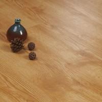 Wooden Textured Easy Adhesive Floor Tile - Light Brown