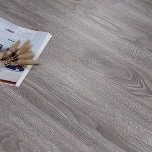 Wooden Textured Easy Adhesive Floor Tile - Gray