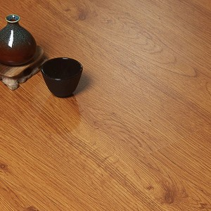Fancy Textured Wooden Home Essential Interior PVC Adhesive Tiles - Brown