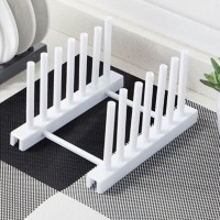 Home Essential Kitchen Organizer Dish Rack - White