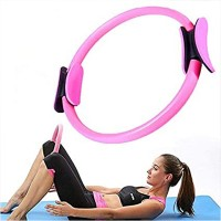 Body Toning Pilates Circle Exercise Fitness Magic Ring - Pink
