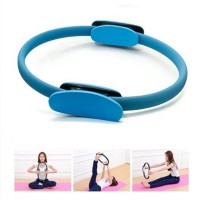 Body Toning Pilates Circle Exercise Fitness Magic Ring - Blue